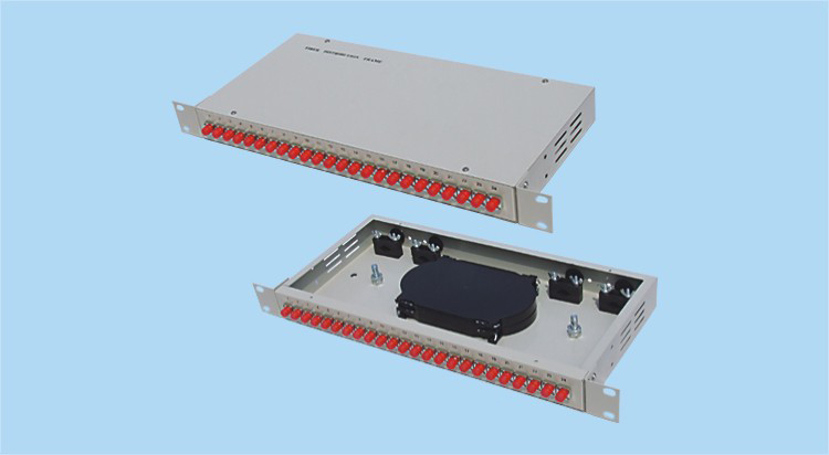 rack mount 24 port terminal box