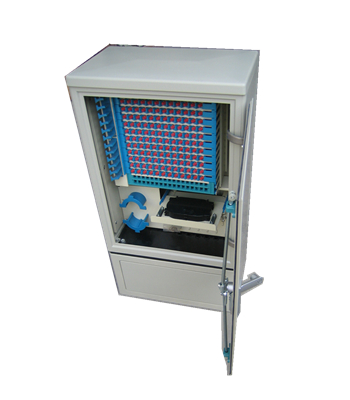 144 core Optical cable cross connection cabinet