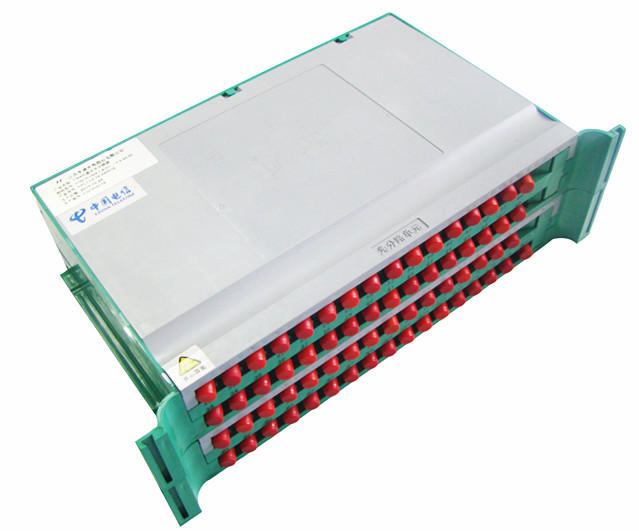 T-1064FU   1x64 FC/PC tray type plc splitter