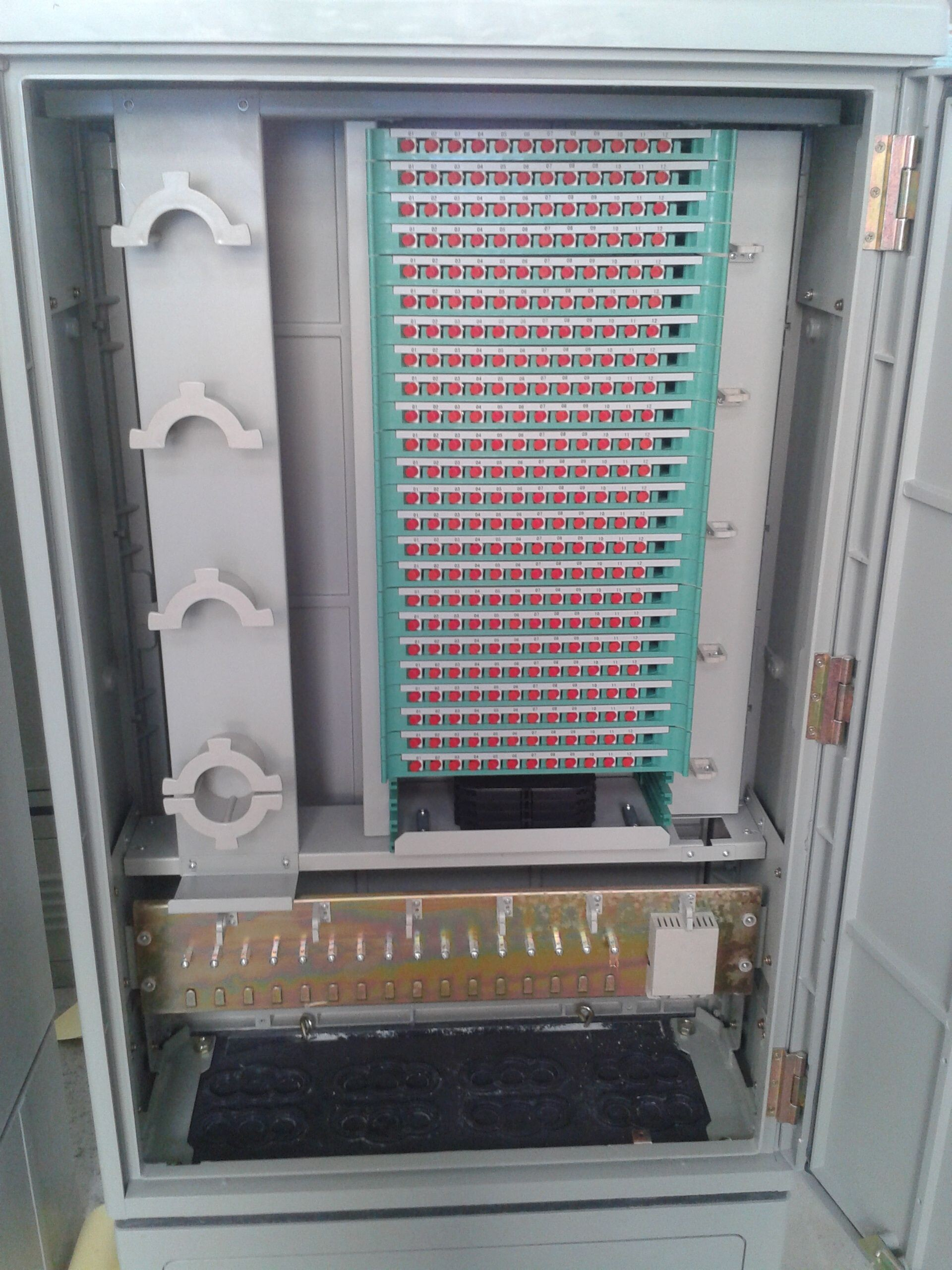 288 cores Optical cable cross connection cabinet