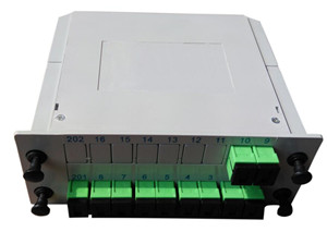 C-1010SA    1x10 SC/APC fiber optic splittter