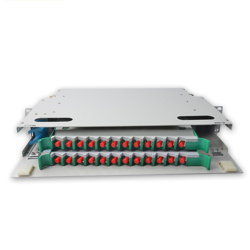 24 Core FC ODF  ODF distribution frame 24-core Rack Mount 2U type with FC/UPC Adapter