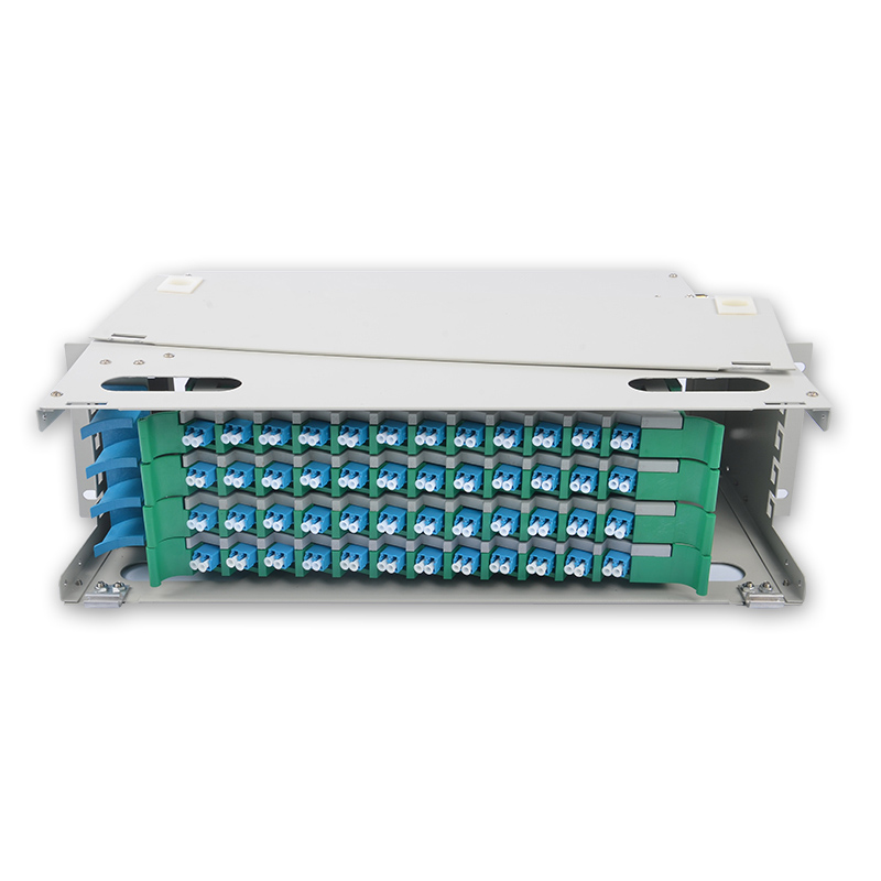 48 Core LC ODF  ODF distribution frame 48-core Rack Mount 4U type with LC/UPC Adapter