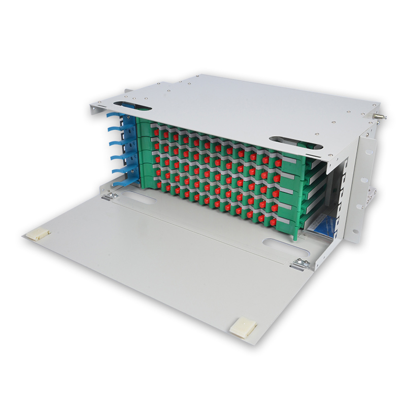 72 Core FC ODF  ODF distribution frame 72-core Rack Mount 6U type with FC/UPC Adapter
