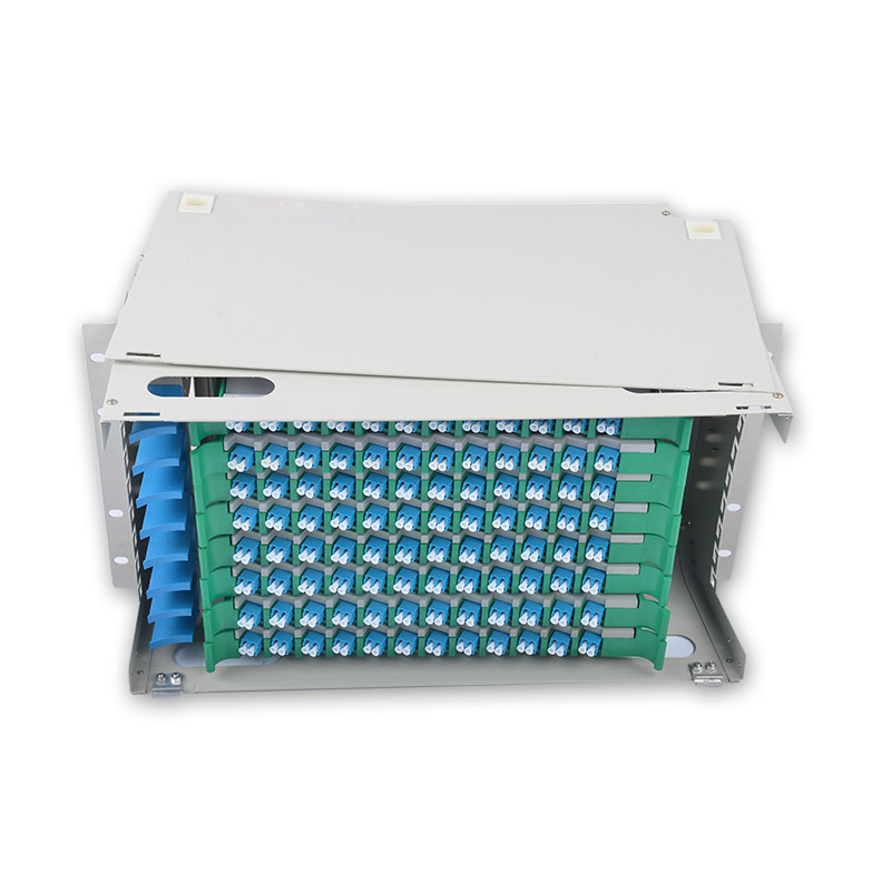96 Core LC ODF  ODF distribution frame 96-core Rack Mount 8U type with LC/UPC Adapter